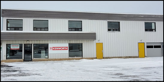 Kenworth Rimouski New Parts and Service Facility in Québec