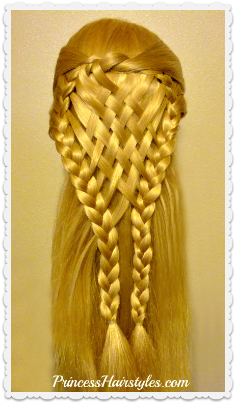 Woven Pie Crust Hair Tutorial Holiday Hairstyles