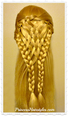 Woven pie crust hairstyle. Christmas hairstyle, Thanksgiving hairstyle.