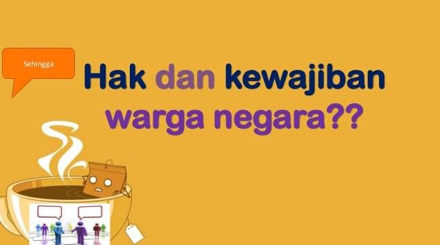 Kunci Jawaban Latihan PKN BAB 1 (Hak dan Kewajiban Warga ...