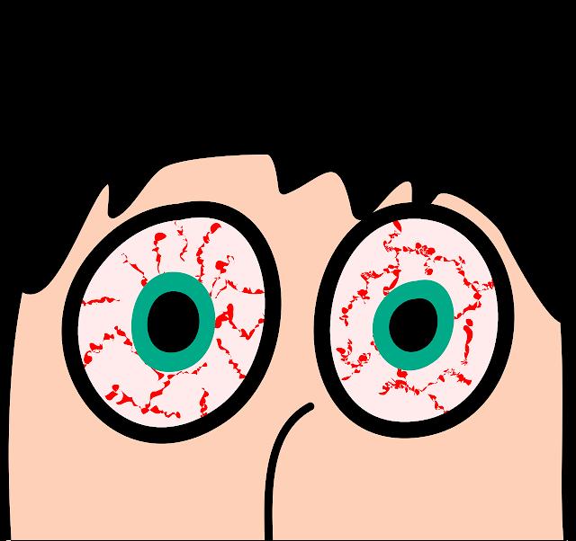 احمرار العينين