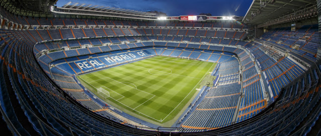 Estádio Santiago Berbabéu, Madri