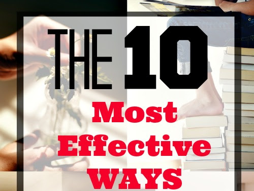 The 10 Most Effective Ways to Save Money