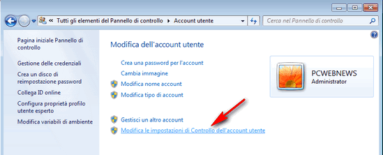 UAC User Account Control