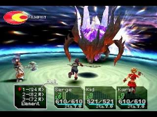 Chrono Cross melhor jogo de PS1