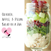 Chicken, Apple, & Pecan Salad in a Jar