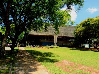 O Famoso Prédio da FAU, no Campus da USP