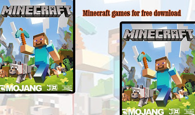 Minecraft games for free download