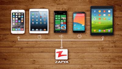 تحميل تطبيق Zapya لنقل كل أنواع الملفات بين الهواتف الذكية apk