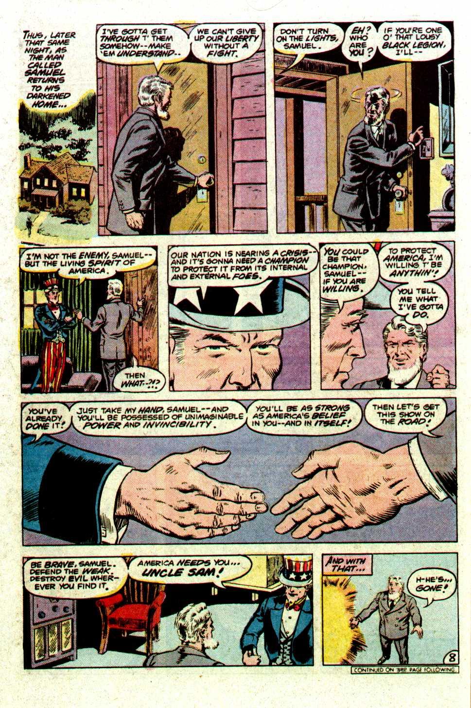 Read online Secret Origins (1986) comic -  Issue #19 - 10