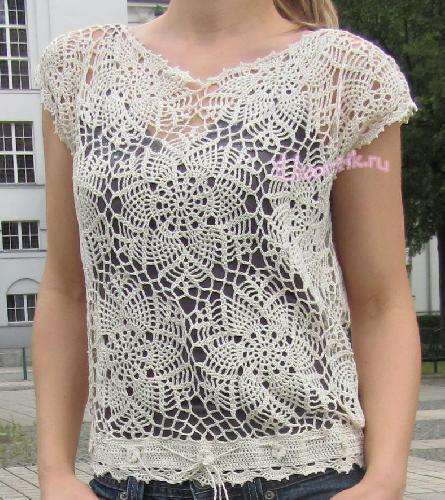 Вязание крючок ажурные узоры платье