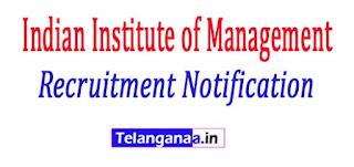 Indian Institute of Management IIM Rohtak Recruitment Notification 2017