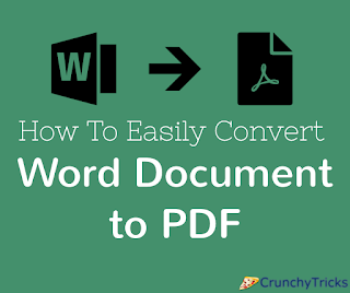 Just about everyone uses word processing technology these days  How To Easily Convert Your Word Documents to PDF