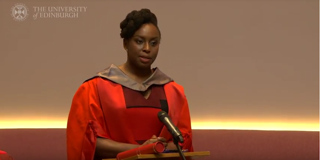 Video: Chimamanda Adichie Recieves Honorary Degree Award- [Doctor Of Letters]