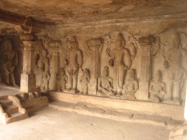 Tamilnadu Tourism: Pallava Cave Temples, Rockfort – Lower