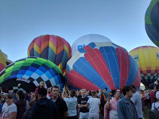 Hot Air Balloon Event at the Freedom Festival July 4 2018