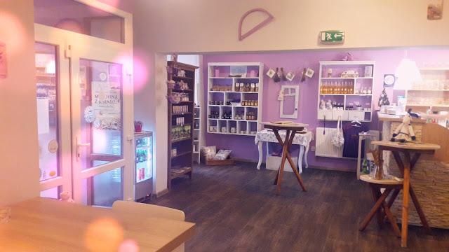 Moje první návštěva - Levandulová kavárna