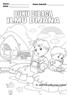 Poster Mewarna KM1M & Gambar Mewarna Bulan PSS NILAM