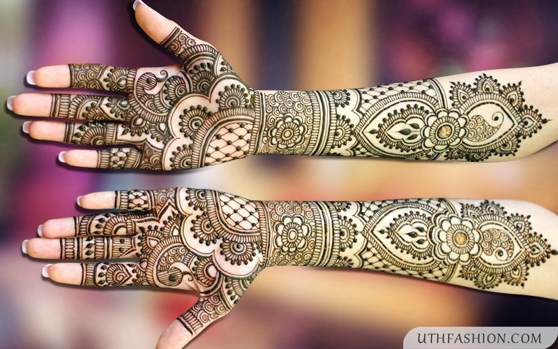 Mehndi For Front Hand Full : Top stylish full hand mehndi designs images for brides