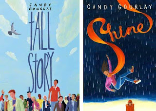 Tall Story by Candy Gourlay, Shine by Candy Gourlay