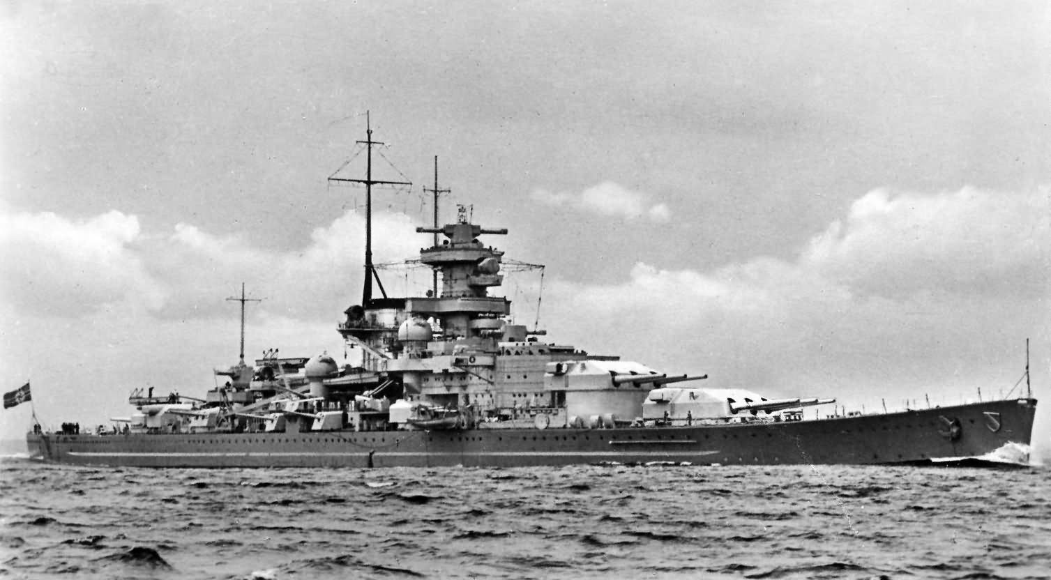My Daily Kona The Sinking Of The German Battleship