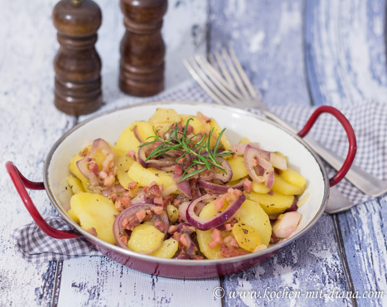 Kartoffeln Pfanne