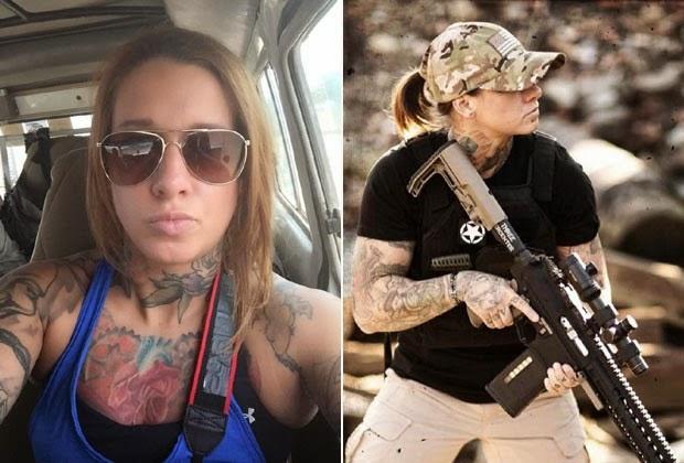 Veterana de guerra Kinessa Johnson vai defender animais selvagens na África