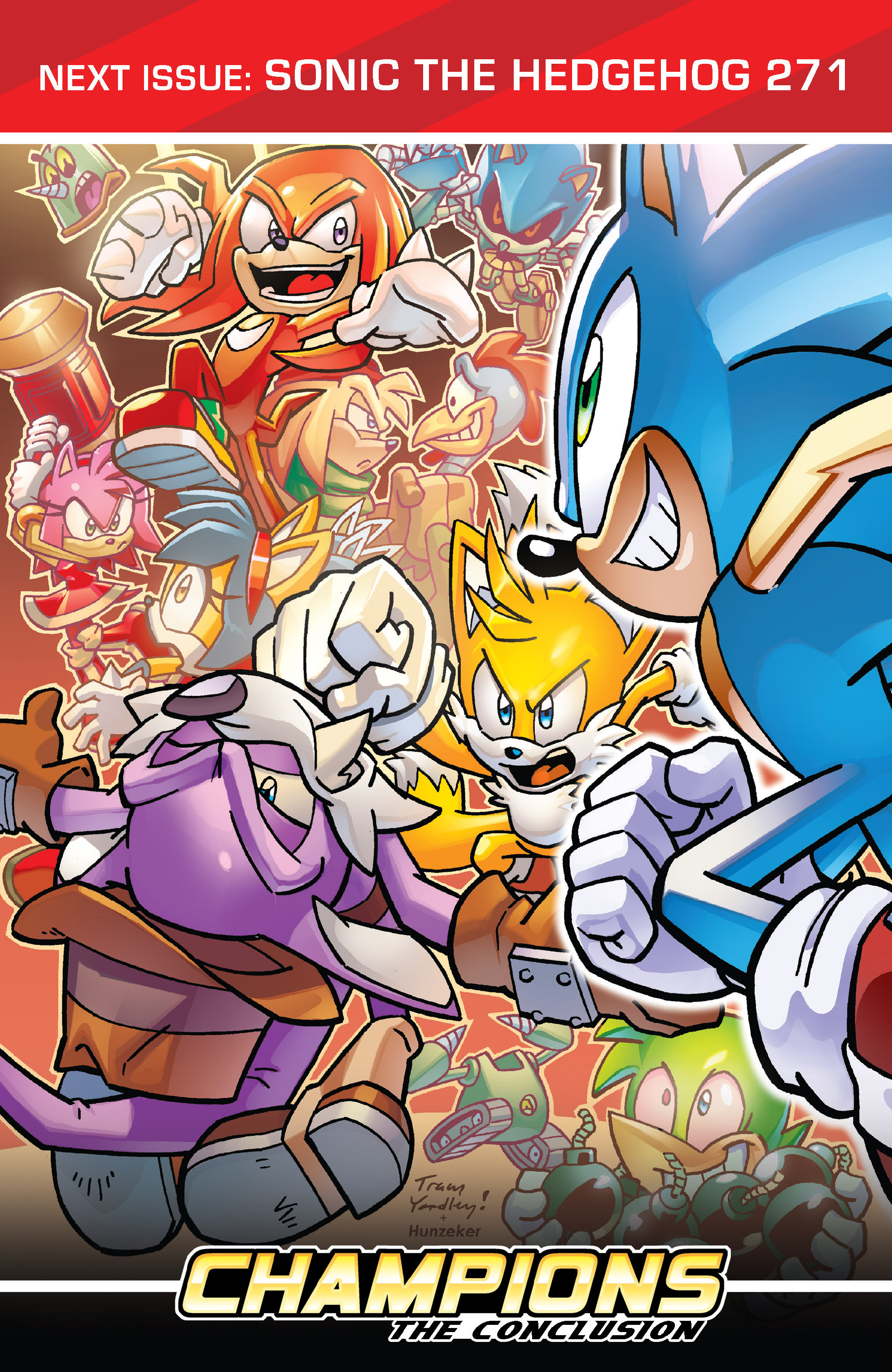 Read online Sonic The Hedgehog comic -  Issue #270 - 24
