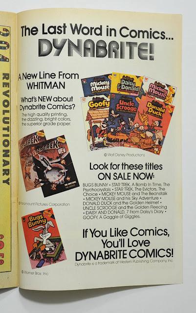 Dynabrite comics advertisement