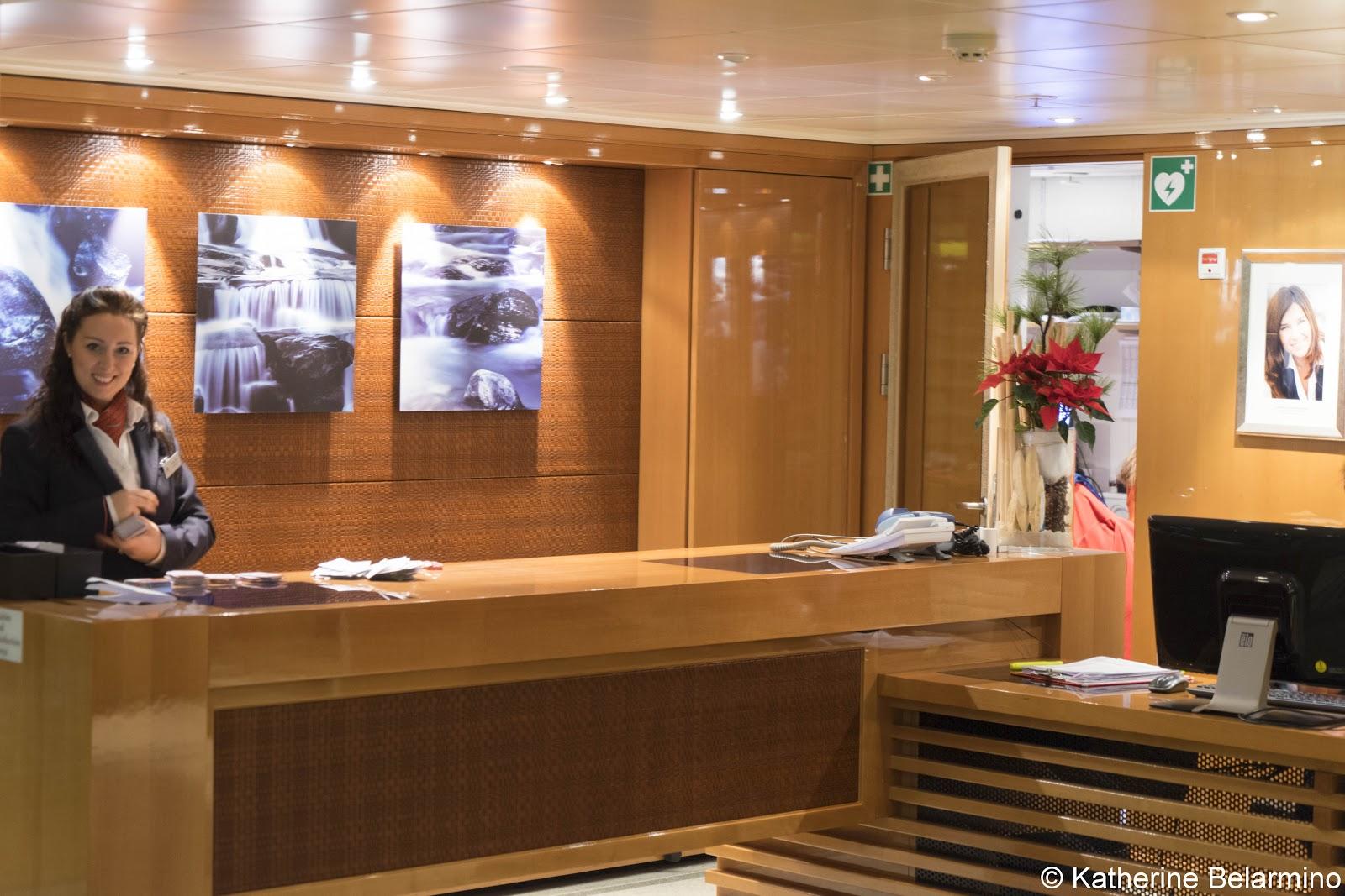 Review Viking River Cruises Reception Desk
