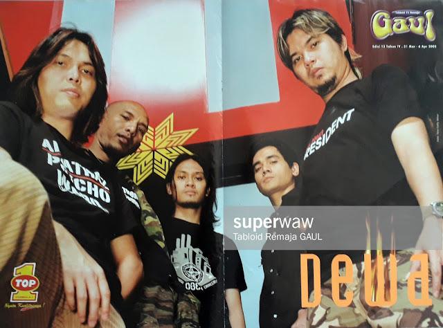 POSTER BAND DEWA 2005