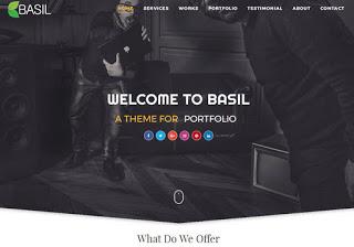 Basil portfolio blogger template gone asia basil portfolio blogger template toneelgroepblik Gallery