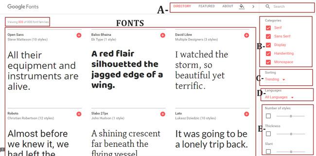 el-nuevo-google-fonts