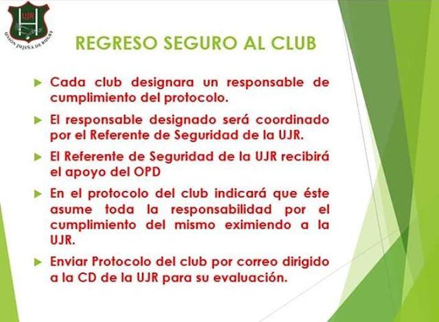 Protocolo de la Unión Jujeña de Rugby