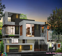 Front Elevation Single Floor House Designs