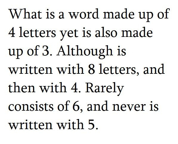 what is a word made up of 4 letters just for pic what is a word made up of 4 letters yet 843