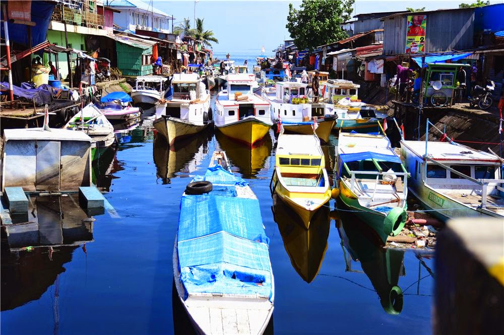 Paotere Harbour Makassar Indonesia