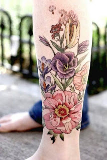 Best 52+ Beautiful Flower Tattoo
