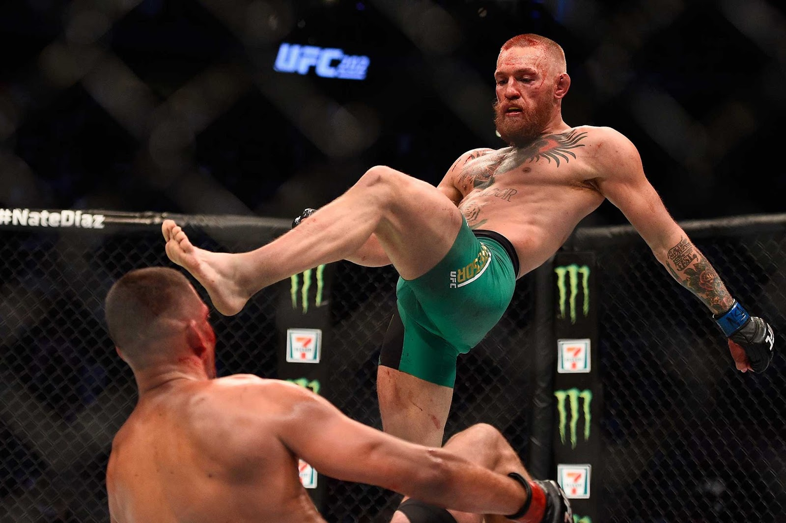 CONOR MCGREGOR VS. NATE DIAZ 10