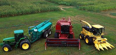 Foto de maquinarias modernas para trabajar en el area de Agricultura