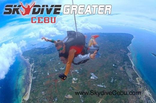 Skydiving in Bantayan Island