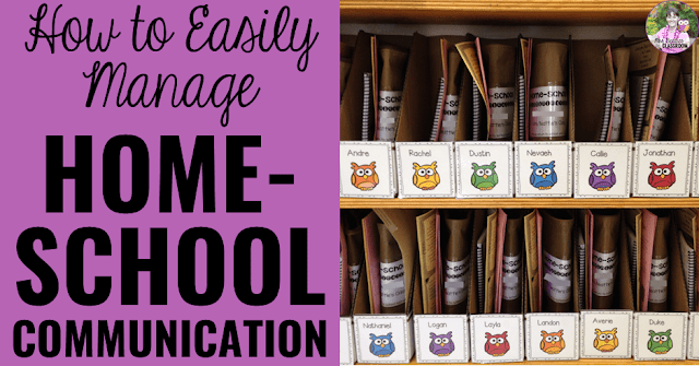 Are you a teacher looking to simplify home-school communication in your classroom? This post is for you! I have tips and ideas for simplifying your daily communication routine.