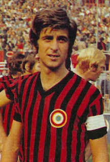 Gianni Rivera, idol of AC Milan fans for almost two decades