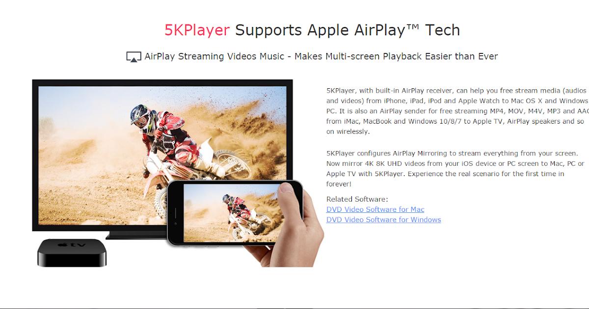 شرح تحميل وتنصيب 5KPlayer أفضل مشغل ميديا يدعم جودة 5K