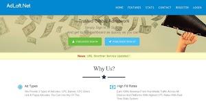 Adloft.Net Review - Jaringan Iklan CPM Yang Masih Membayar