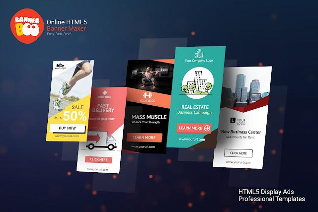 Crie anúncios em HTML5 com facilidade com a Banner Boo!