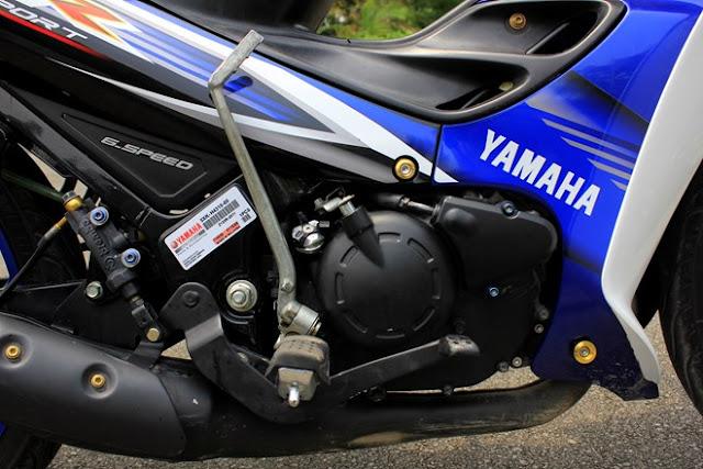 Yamaha 125 ZR đời 2016 đầu tiên về Sài Gòn 1