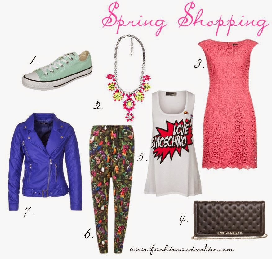 april spring shopping on Fashion and Cookies, Love Moschino, Morgan, Ganni, fashion blogger, magico sconto