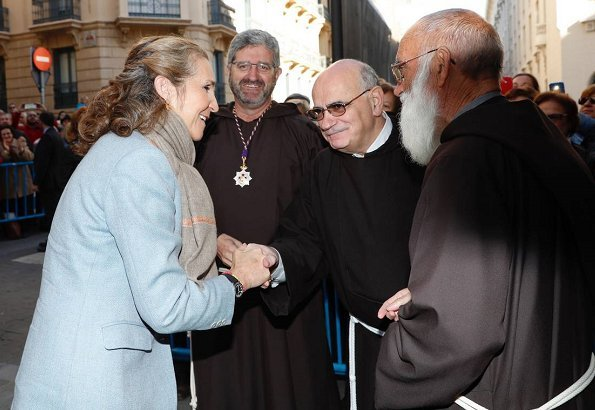 Infanta Elena of Spain attended the traditional thanksgiving to Medinaceli's Christ