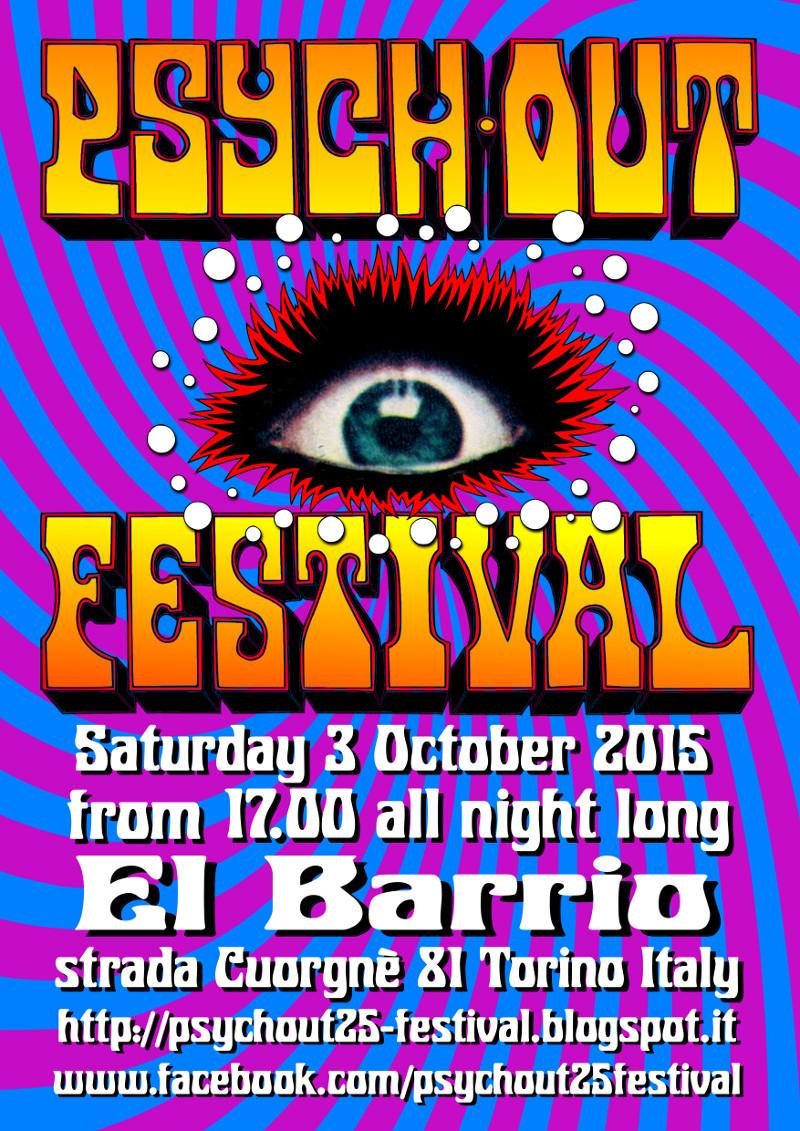 Giampo Coppa: psychout festival - Saturday 3 October